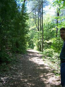 Island Park Pathway
